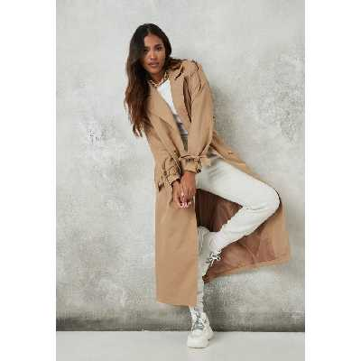 Sable Manteau trench camel oversize