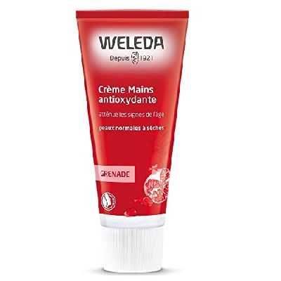WELEDA Crème Mains régénératrice à la Grenade, 50 ml