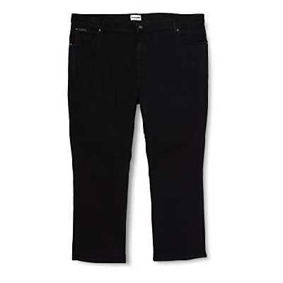 Wrangler - Pantalon - Coupe Droite - Stretch - Homme - Noir (Black) - FR : W40/L32 (Taille fabricant : W40/L32)