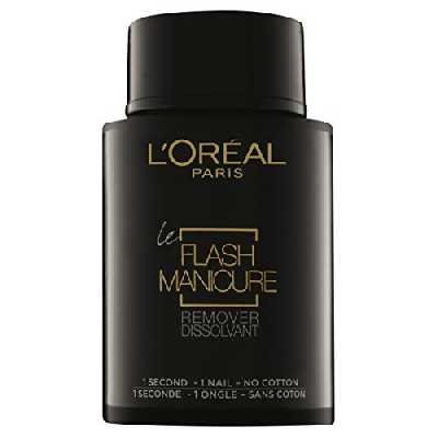L'Oréal Paris Flash Dissolvant Instantané de Vernis à Ongles 75 ml