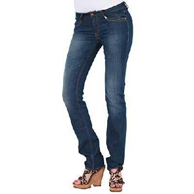Le Temps des Cerises JFASTI00W384 - Jeans - Droit - Femme - Bleu - FR: 38 (Taille fabricant: 28)