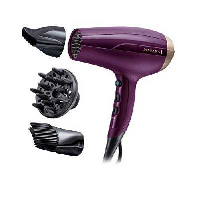 Remington Sèche-Cheveux Ionique, Anti-Frisottis, 3 Températures, Ultra Performant - D5219 YourStyle