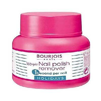 Bourjois - Dissolvant pour vernis à ongles – 35 ml, format voyage