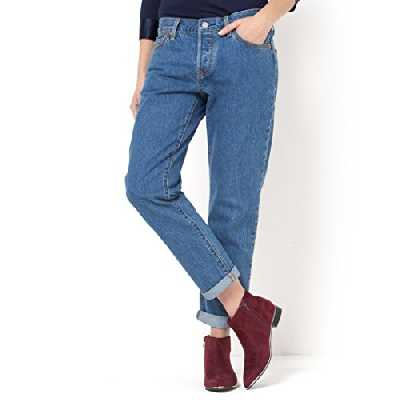 Levi's 501 CT, Jeans Femme, Bleu (SURF SHACK), W28/L34 (Taille fabricant: 28)