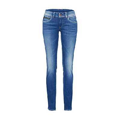 Pepe Jeans New Brooke Jeans Femme - Bleu (Denim D45) - 33W / 30L