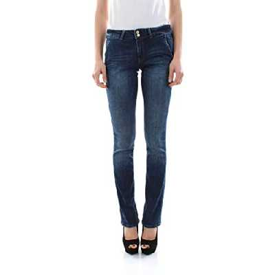 Guess Jade Mini Boot Jean Bootcut, Bleu (Crowd Wcrd), 38 (Taille Fabricant: 28) Femme