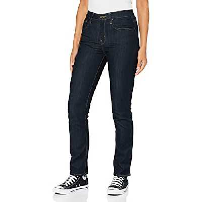 Levi's 724 High Rise Straight Jeans, to The Nine, 34W / 32L Femme