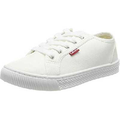 Levi's Malibu Beach S, Baskets Femmes, Blanc (Sneakers 51), 39 EU