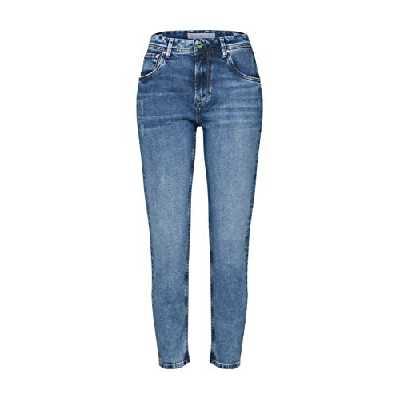 Pepe Jeans Violet Short, Bleu (Medium Used Denim Wv4), 30W / 32L Femme
