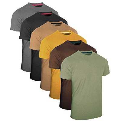 Full Time Sports¨ 3 4 6 Pack Assortiment de Hauts dŽcontractŽs Langarm -, Kurzarm - Pack Multiple T-Shirts Rundhals, 6 Pack - Vintage Assorted, XL