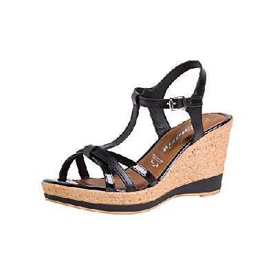 Tamaris Femmes Sandale à Talon 1-1-28347-24 001 Normal Taille: 37 EU