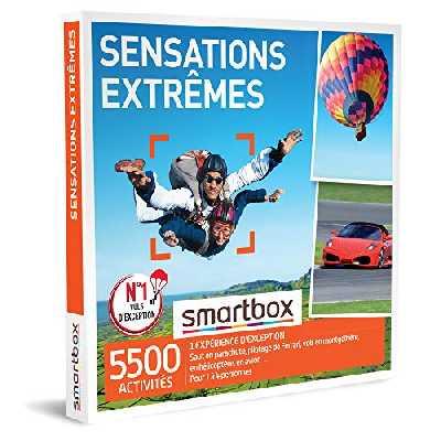 SMARTBOX - coffret cadeau couple - Fête des Pères - Sensations extrêmes - idée cadeau originale - 1 activités à sensations pour 1 à 4 personnes