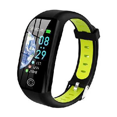 Tipmant Montre Connectée Femmes Homme Enfant IP68 Etanche Bracelet Connecté Écran Coloré Smartwatch avec Cardio Podometre Sommeil Réveil Notifications pour iPhone Huawei Samsung Xiaomi Sony (Vert)
