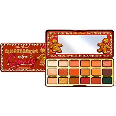 TOO FACED GINGERBREAD EXTRA SPICY LIMITED EDITION EYE SHADOW PALETTE