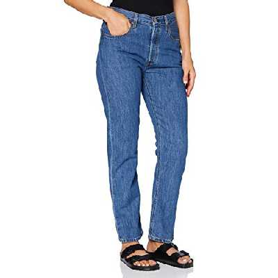 Levi's 501 Crop, Jeans Dames, Sansome Breeze Stone, 23W / 26L
