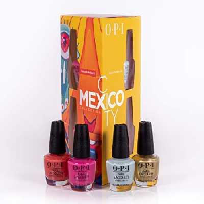 OPI Nail Lacquer Vernis Gel Mexico City Spring 2020 Collection Mini Kit 4 Pièces 1 Unité