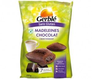 madeleines chocolat sans gluten