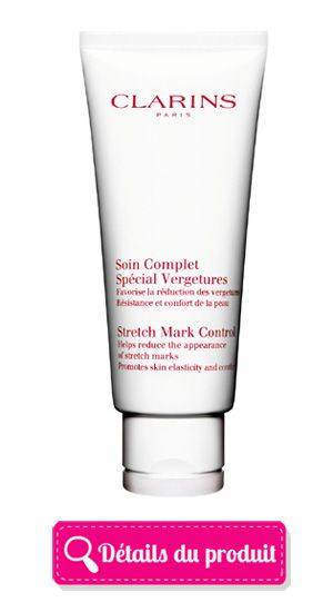 soin complet special vergetures clarins