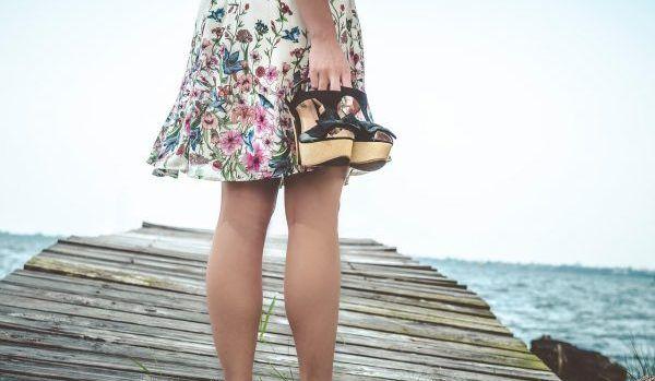 Des chaussures pour les vacances !