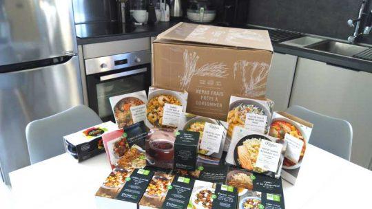 Les repas régime livré à domicile KitchenDiet : ça marche ou pas ?