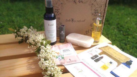 Belle au naturel : mon avis sur le concept et la box de mai