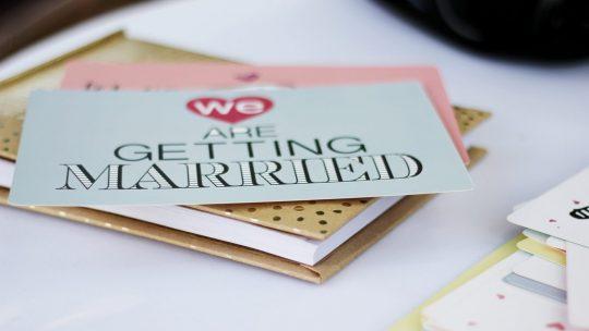 Conseils pour réussir son faire-part de mariage