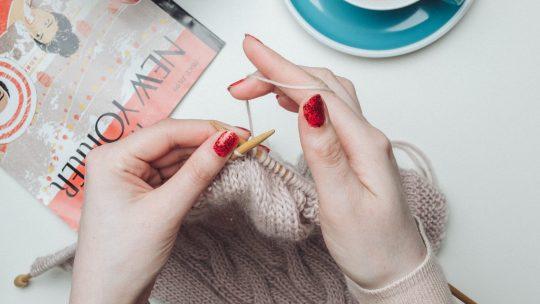 Le tricot DIY pour avoir des pièces uniques et tendances!