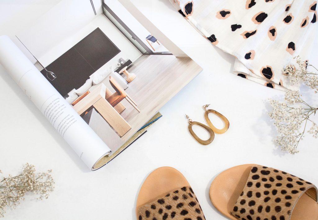 chaussures leopard