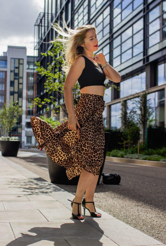 imprimé leopard