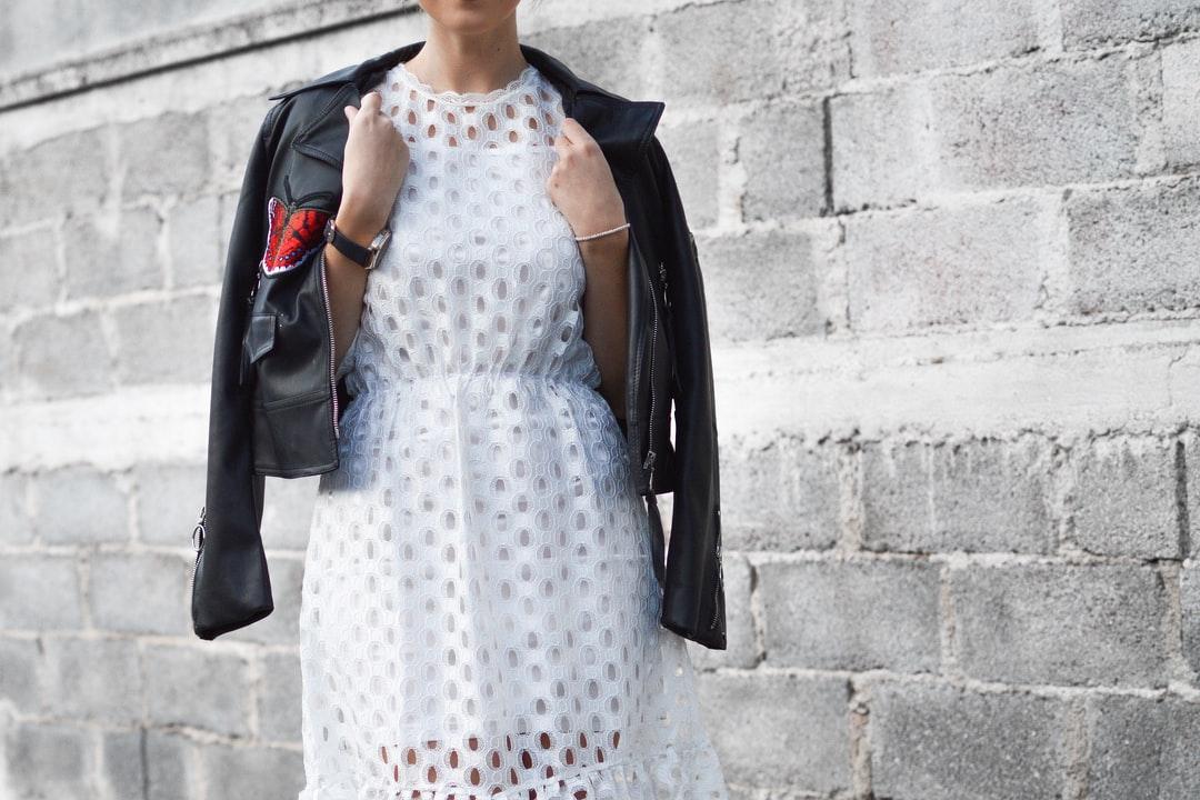 robe blanche perfecto