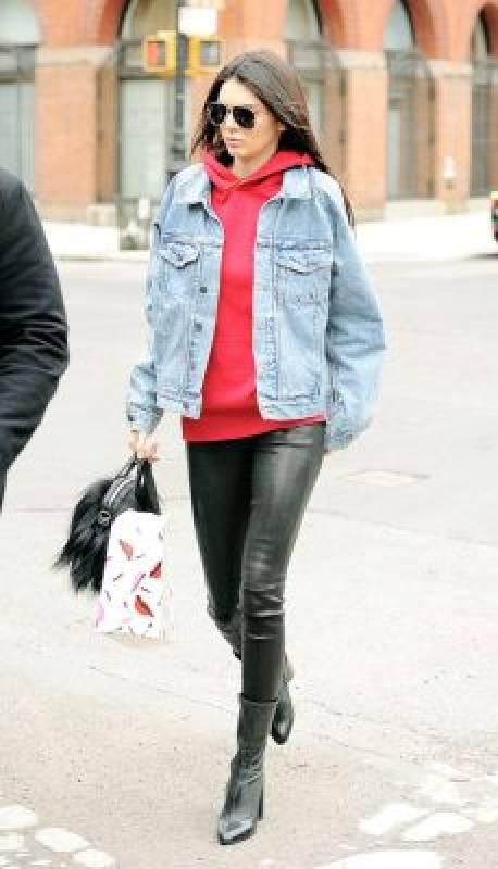 veste en jean tendance