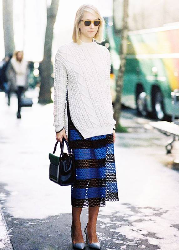 look stylé avec une jupe