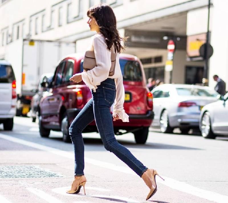 look stylé en jean
