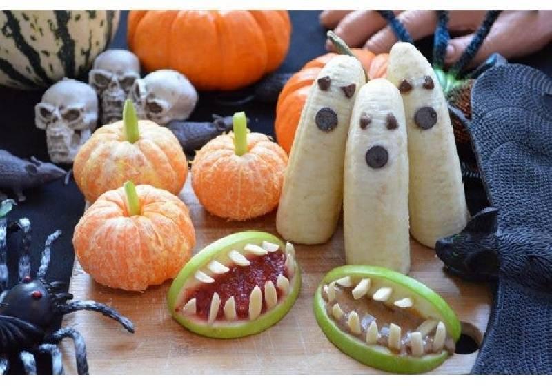 fruits halloween