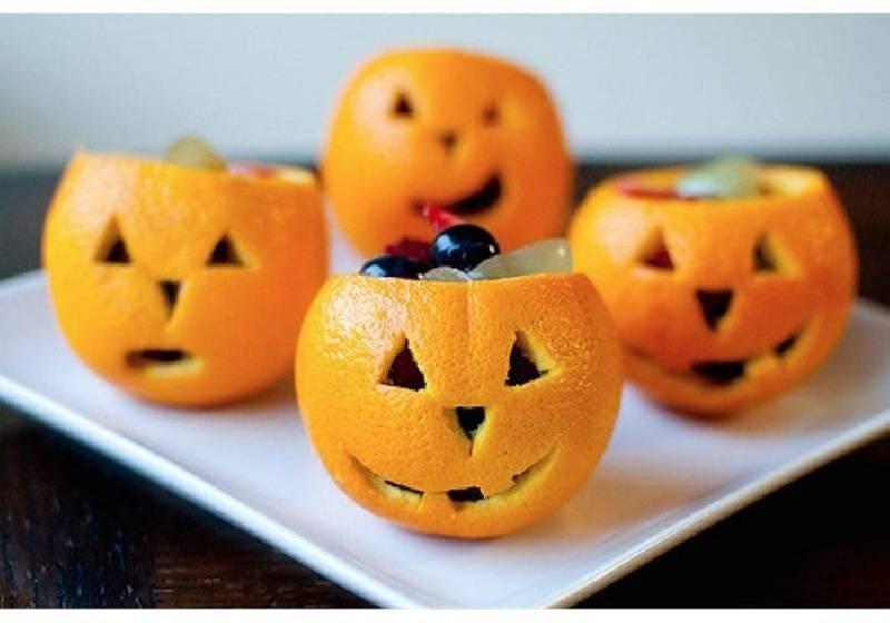 citrouille orange halloween