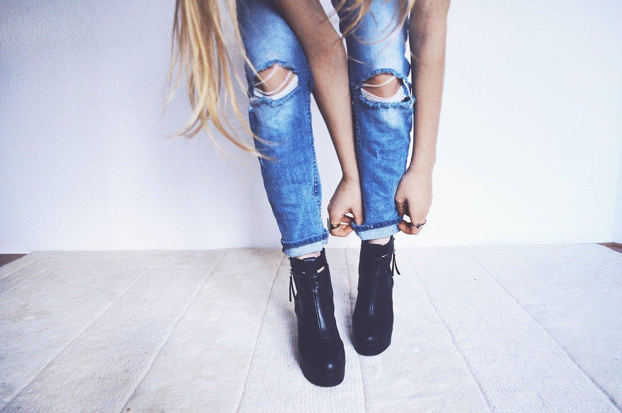 bottines femme petite