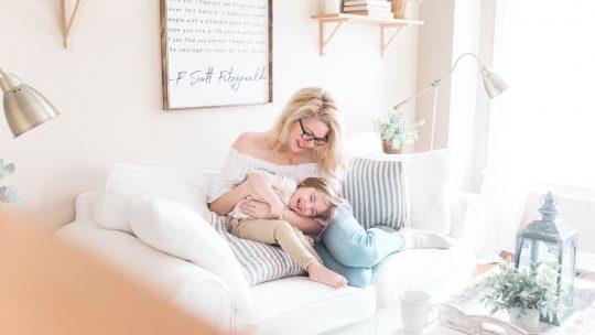 Accepter d'être imparfaite m'a permis d'être une meilleure mère