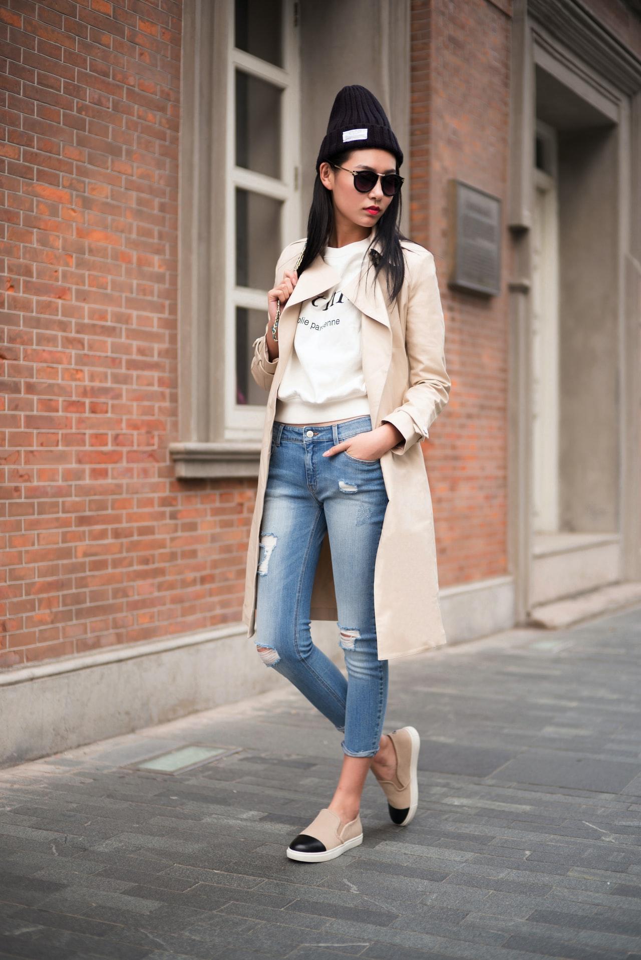 jean skinny tendance